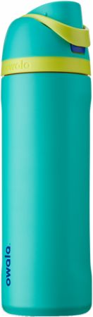 Image of FreeSip Insulated Stainless Steel Water Bottle Neon Basil (Teal Green) 24 Oz. - Water Bottles Owala
