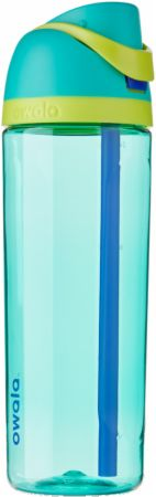 Image of FreeSip Tritan Water Bottle Neon Basil (Teal Green) 25 Oz. - Water Bottles Owala