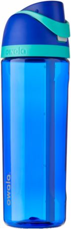 Image of FreeSip Tritan Water Bottle Smooshed Blueberry (Blue) 25 Oz. - Water Bottles Owala