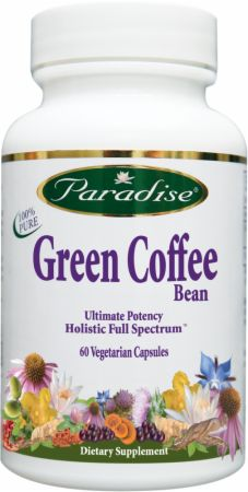 Paradise Herbs Green Coffee Bean