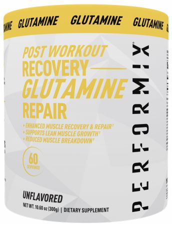 Image of Glutamine Unflavored 60 Servings - Post-Workout Recovery Performix
