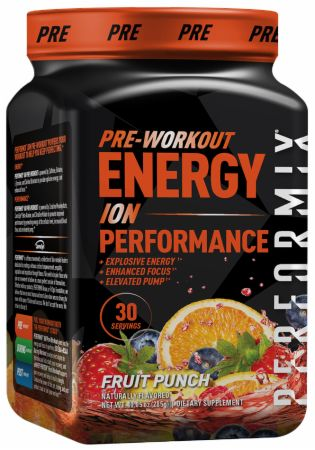 Image of ION Pre Workout Fruit Punch 30 Servings - Pre-Workout Performix