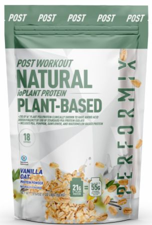 Image of ioPlant Protein Vanilla Oat 18 Servings - Protein Powder Performix