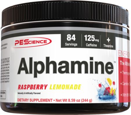 Image of PEScience Alphamine 244 Grams Raspberry Lemonade