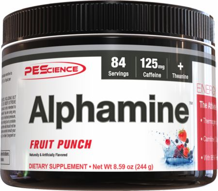 Image of PEScience Alphamine 244 Grams Fruit Punch