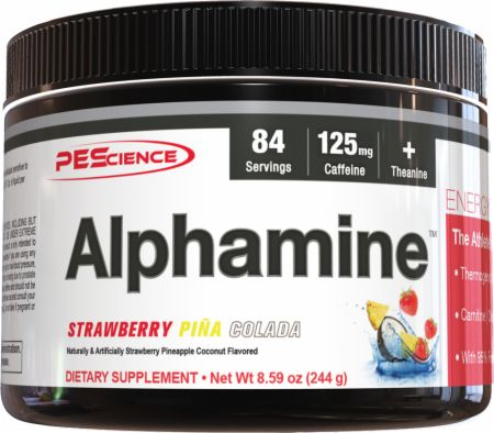 Image of PEScience Alphamine 244 Grams Strawberry Pina Colada