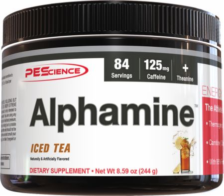 Image of PEScience Alphamine 244 Grams Iced Tea