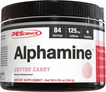Image of PEScience Alphamine 244 Grams Cotton Candy