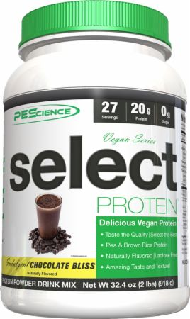 Pea Protein and Brown Rice Protein!