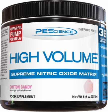 Image of High Volume Cotton Candy 252 Grams - Nitric Oxide Boosters PEScience