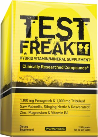 Image of PharmaFreak TEST FREAK 120 Hybrid Capsules