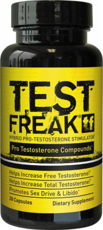 Image of PharmaFreak TEST FREAK 28 Hybrid Capsules