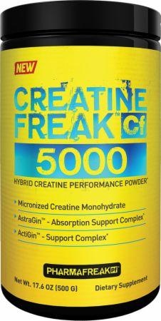 PharmaFreak Creatine Freak 5000 Unflavored 500 Grams - Creatine