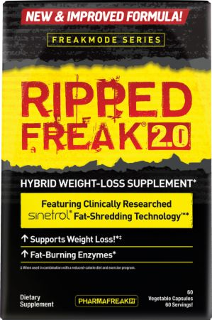 Image of RIPPED FREAK 2.0 60 Vegetable Capsules - Fat Burners PharmaFreak