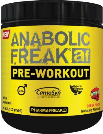 Image of Anabolic Freak Pre-Workout Super Punch 20 Servings - Pre-Workout PharmaFreak