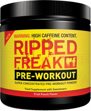 Image of PharmaFreak RIPPED FREAK Pre-Workout 200 Grams Fruit Punch