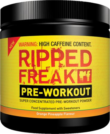 Image of PharmaFreak RIPPED FREAK Pre-Workout 200 Grams Orange Pineapple