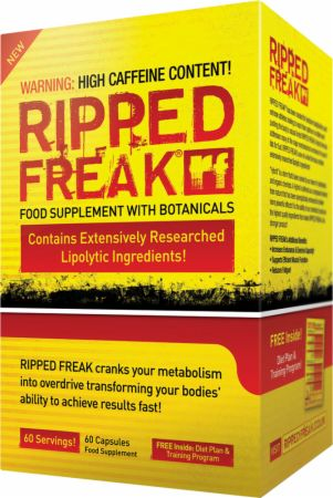 Image of PharmaFreak RIPPED FREAK 60 Capsules