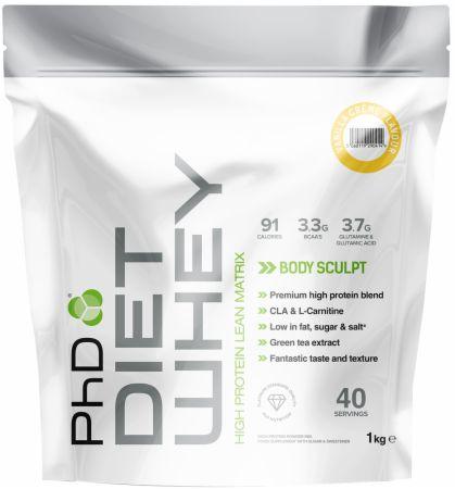 Image of PhD Diet Whey 1 Kilogram Vanilla Creme