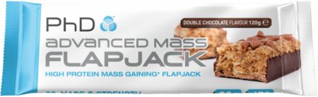 Image of PhD Advanced Mass Flapjack 12 - 120g Flapjacks Double Chocolate