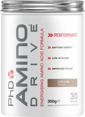 Image of PhD Amino Drive 300 Grams Cafe Latte