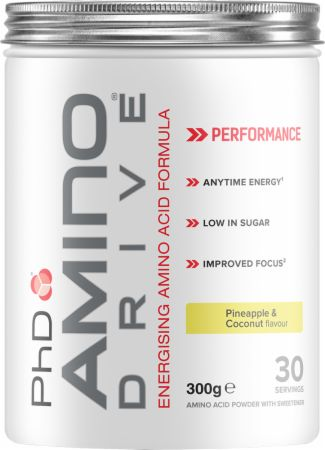 Image of PhD Amino Drive 300 Grams Pineapple & Coconut