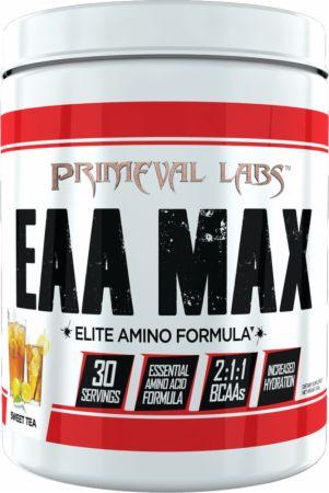 Image of EAA Max Sweet Tea 30 Servings - Amino Acids & BCAAs Primeval Labs