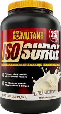 Image of Iso Surge Vanilla Ice Cream 1.6 Lbs. - Protein Powder MUTANT