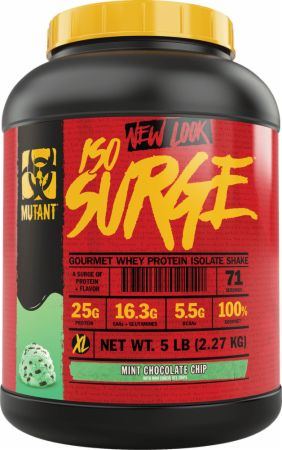 Image of Iso Surge Mint Chocolate Chip 5 Lbs. - Protein Powder MUTANT