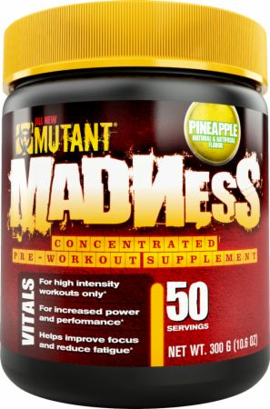 Image of MUTANT Madness 50 Servings Pineapple