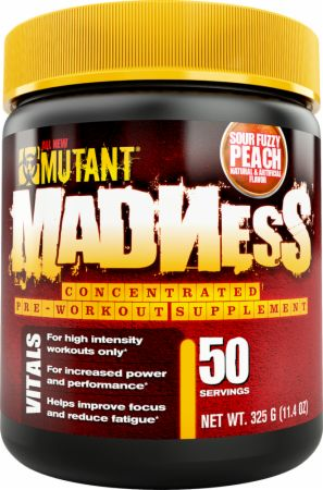 Image of MUTANT Madness 50 Servings Sour Fuzzy Peach