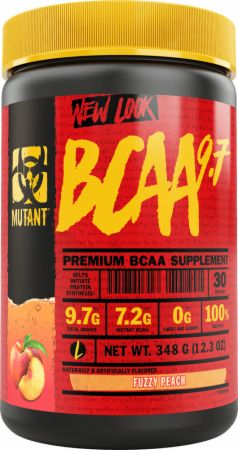 Image of BCAA 9.7 Fuzzy Peach 30 Servings - Amino Acids & BCAAs MUTANT