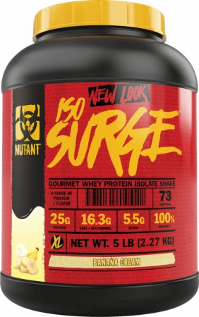 Image of Iso Surge Banana Cream 5 Lbs. - Protein Powder MUTANT