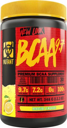 Image of BCAA 9.7 Roadside Lemonade 30 Servings - Amino Acids & BCAAs MUTANT