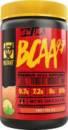 Image of BCAA 9.7 Sweet Iced Tea 30 Servings - Amino Acids & BCAAs MUTANT
