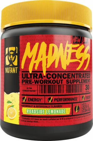MUTANT Madness Roadside Lemonade 50 Servings - Pre-Workout Supplements