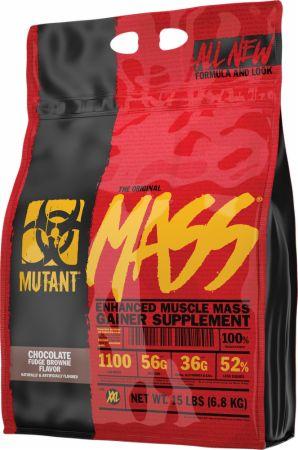 Image of Mass Chocolate Fudge Brownie 15 Lbs. - Mass Gainers MUTANT