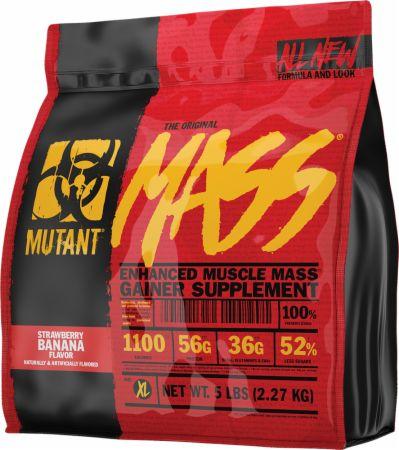 Image of Mass Strawberry Banana 5 Lbs. - Mass Gainers MUTANT