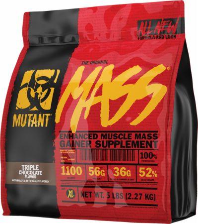Image of Mass Triple Chocolate 5 Lbs. - Mass Gainers MUTANT