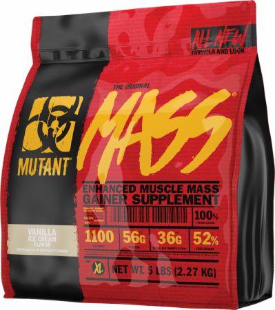 Image of Mass Vanilla Ice Cream 5 Lbs. - Mass Gainers MUTANT