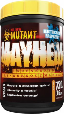 Image of MUTANT Mayhem 720 Grams Green Apple Crush