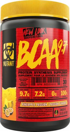 Image of MUTANT BCAA 9.7 348 Grams Pineapple Passion