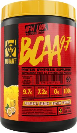 Image of MUTANT BCAA 9.7 1044 Grams Pineapple Passion
