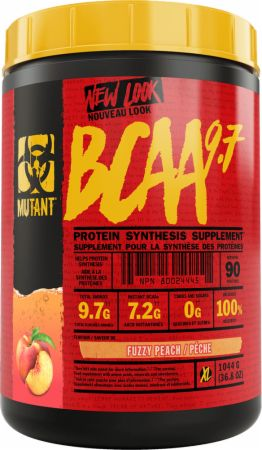 Image of MUTANT BCAA 9.7 1044 Grams Fuzzy Peach
