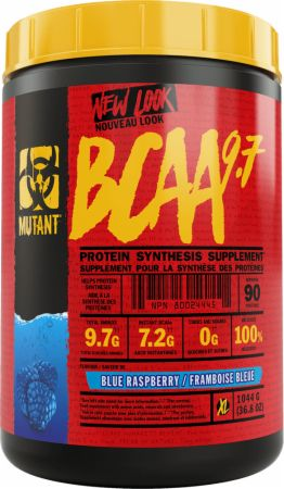 Image of BCAA 9.7 Blue Raspberry 1044 Grams - Amino Acids & BCAAs MUTANT