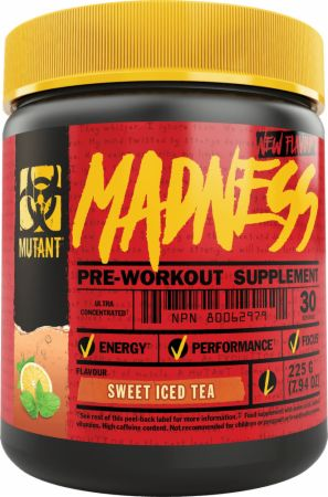 Image of Madness Sweet Iced Tea 30 Servings - Pre-Workout Supplements MUTANT