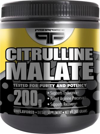 Image of Citrulline Malate Unflavored 200 Grams - Nitric Oxide Boosters PrimaForce
