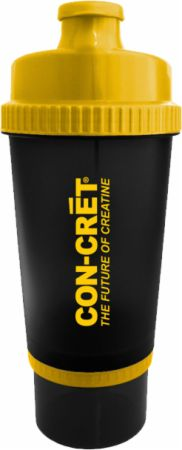 Image of ProMera Sports Con-Cret 3-in-1 Shaker Cup 25 Oz. Black/Yellow