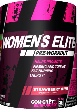 ProMera Sports WOMEN'S ELITE Strawberry Kiwi 36 Servings - Pre-Workout Supplements