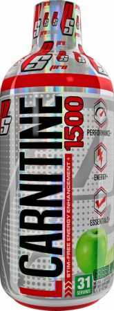 Pro Supps L-Carnitine 1500 16 Fl. Oz. Green Apple